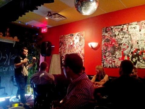 shang open mic comedy night