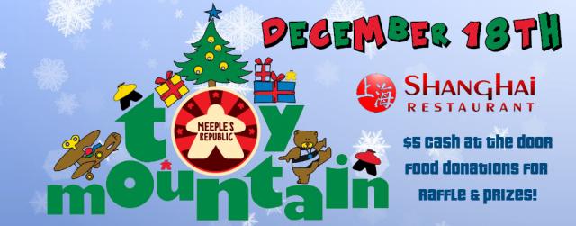Toy Mountain Dec. 18th