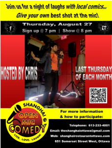 shanghai open mic comedy aug 2015