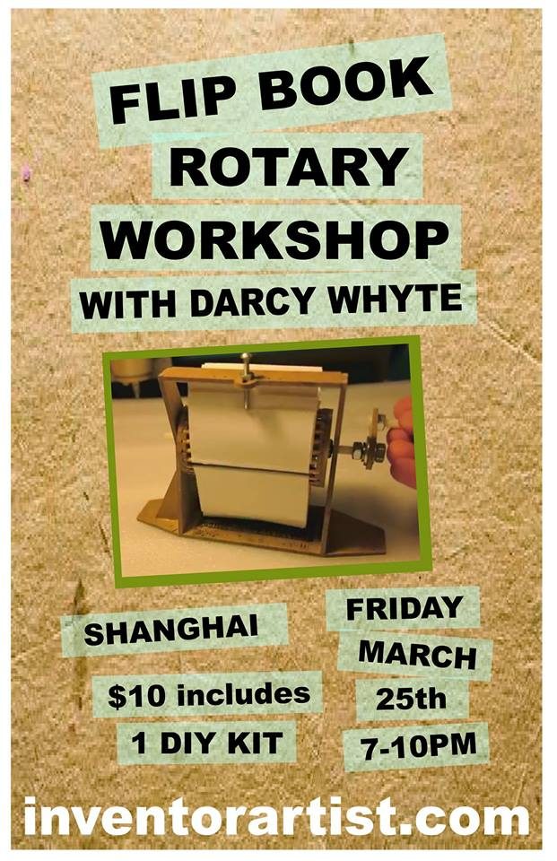 rotary workshop DIY shanghai 25mar16