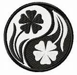ying yang flowers