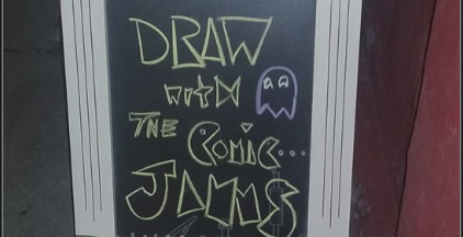 comic jam at shanghai feb2018