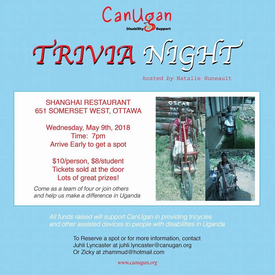 canugan trivia night at shanghai