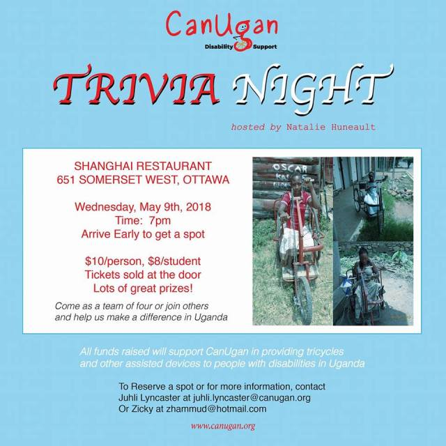 canugan trivia night at shanghai