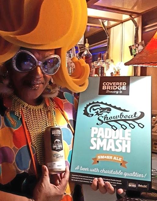 Paddle Smash beer at the Shang 2