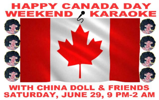 shanghai canada day karaoke saturday