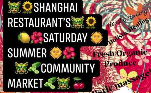 shanghai saturday summer community market
